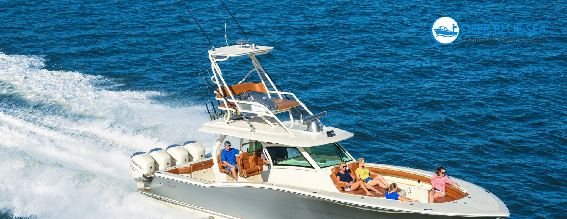 Deep Blue Fishing Yacht