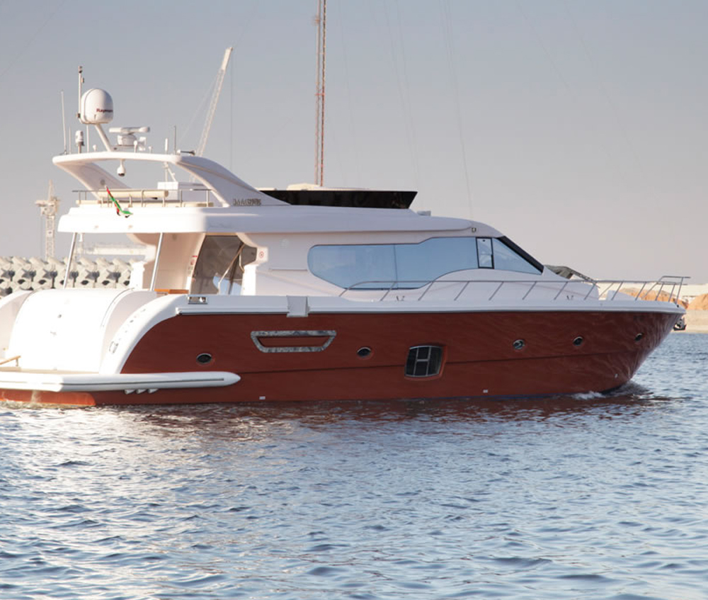 80ft Dubai Marine Orange